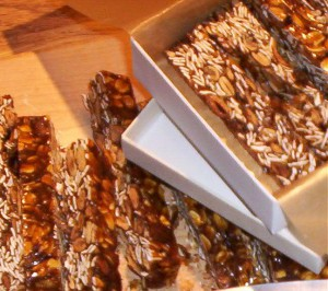 Pumpkin Seed Granola Brittle